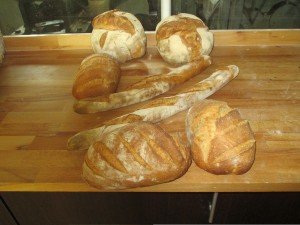 les premiers pains de notre Artofex cuits à 250°c